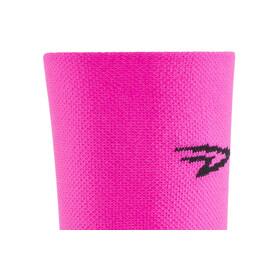"""DeFeet Aireator 5"""" Doppel-Bund Socken D-Logo (Neon Pink)"""